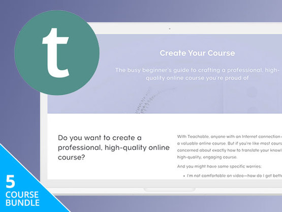 Become a Teachable Instructor Course Bundle