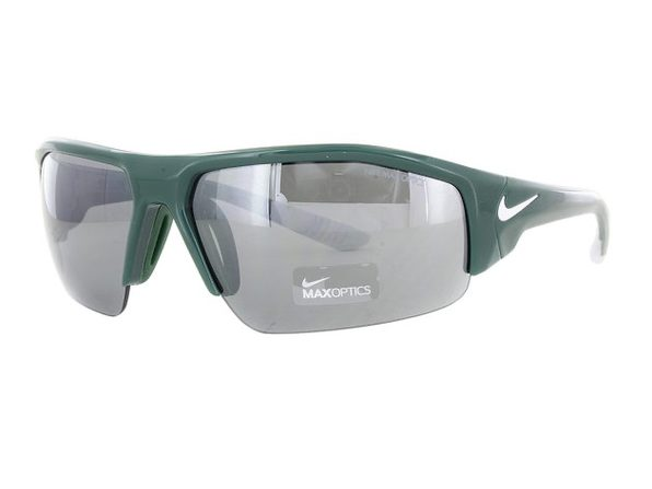 Nike Skylon Ace XV Sunglasses EV0857-301 Green and White Frames - Product Image