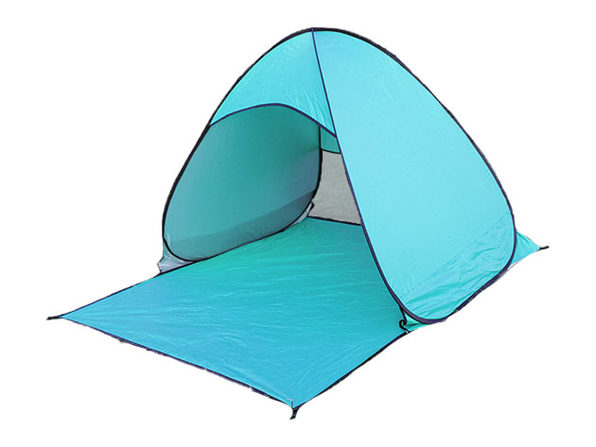 Pop-Up Beach Tent with UV 50+ Protection (Teal)