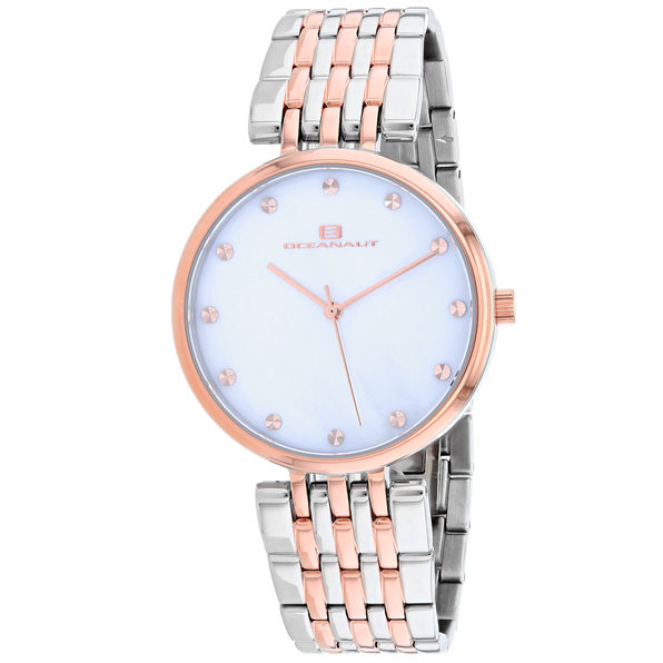 Oceanaut Women's Aerglo Mother of Pearl Dial Watch - OC2202 - Product Image