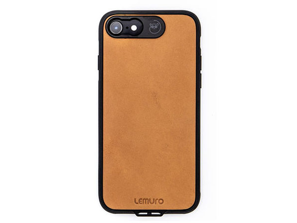 Lemuro iPhone Photo Case | iPhone 7/8 (Tanned Leather)