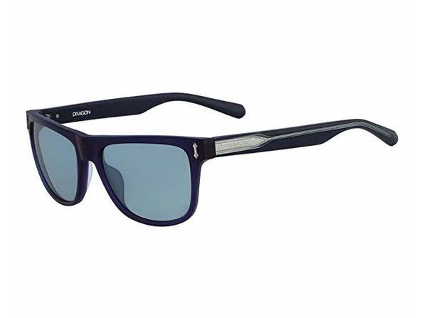 Dragon Brake Sunglasses Matte Crystal Navy/Blue, One Size - Navy