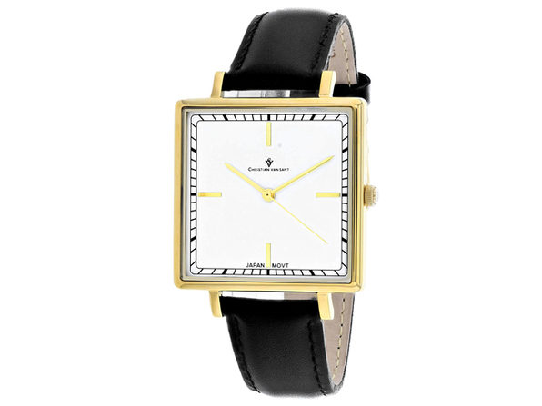 Christian Van Sant Women's Callista White Dial Watch - CV0412