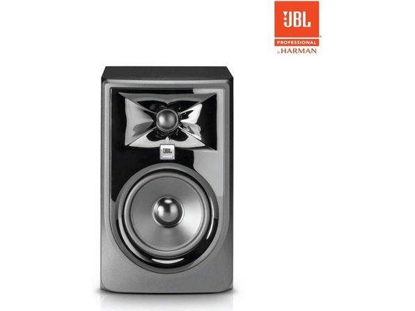 "JBL Professional 305PMkII Next-Generation 5"" 2-Way Powered Studio Monitor, Black (Distressed Box)"