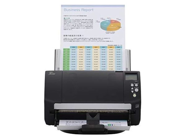 Fujitsu fi-7160 Color Duplex Document Scanner LED Light - Workgroup Series (Used, No Retail Box)