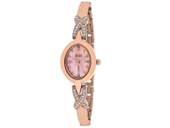 Jivago Women's Via MOP Pink Dial Watch - JV3615