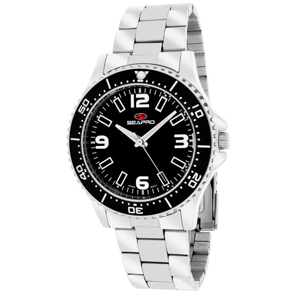 Seapro Women's Tideway Black Dial Watch - SP5411