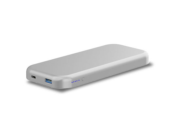BentoStack Charge Cover (Silver) - Product Image