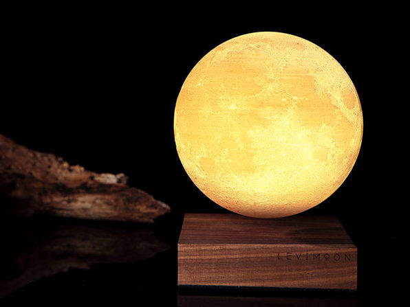 Levimoon: The World's First Levitating Moon Light