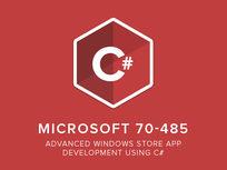 Microsoft 70-485: Advanced Windows Store App Development Using C# - Product Image