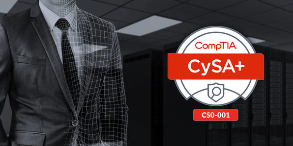 CompTIA CySA+ (Cyber Security Analyst) - Product Image