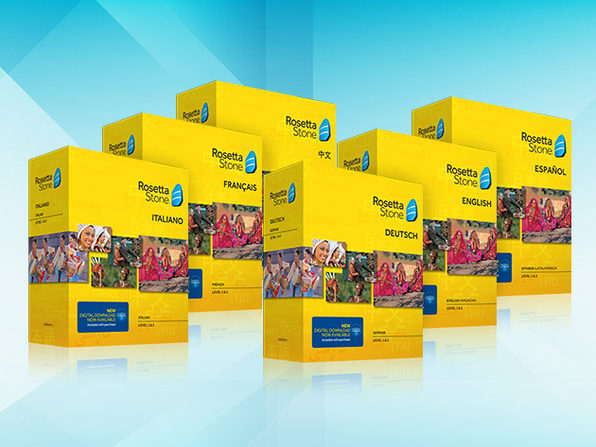 Rosetta Stone Language Box Sets (Levels 1-2)
