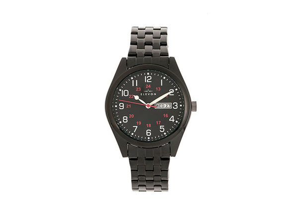 Elevon Gann Bracelet Watch (Black)
