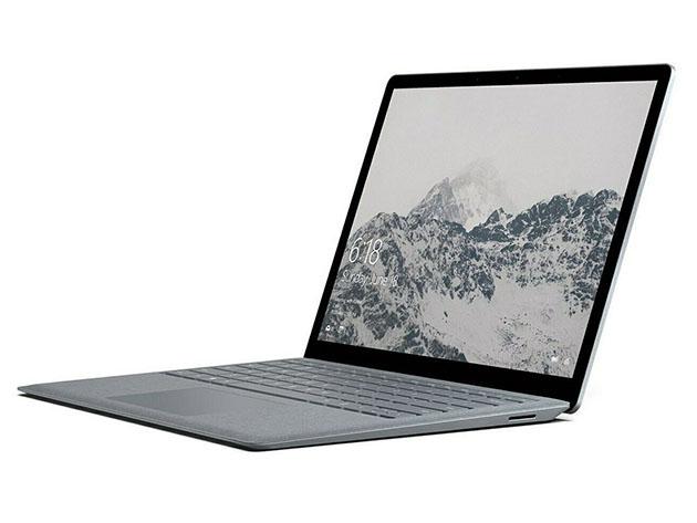 A Surface laptop.
