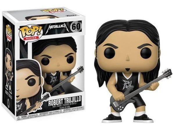 Funko Pop! Rocks Metallica Robert Trujillo Vinyl Figure #60
