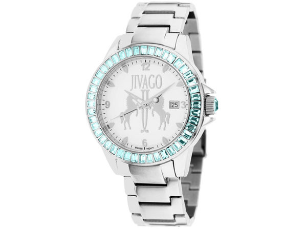 Jivago Women's Folie White Dial Watch - JV4219