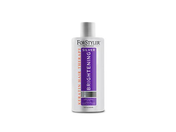 Keratin Hair Therapy Silver Brightening Shampoo, 16.9 Fl. Oz. / 500ml