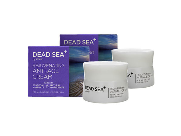 Dead Sea+ Rejuvenating Anti-Age Cream - 2 pack - Product Image