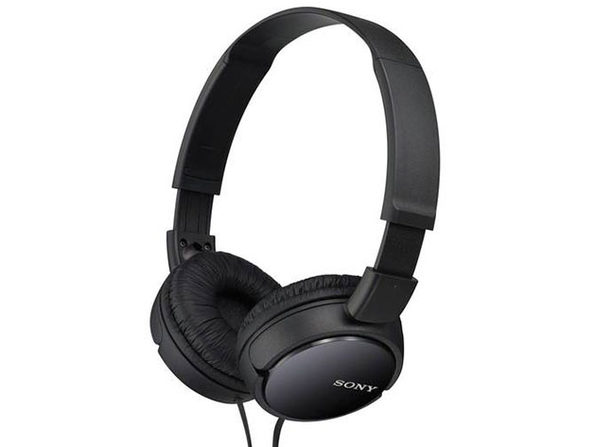 Sony ZX110AP Extra Bass™ Headphones with Mic - Black (Open Box)
