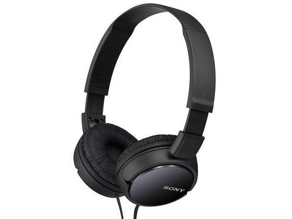 Sony ZX110AP Extra Bass™ Headphones with Mic - Black (Open Box)
