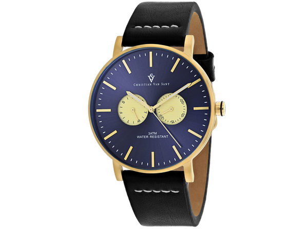 Christian Van Sant Men's Relic Blue Dial Watch - CV0540