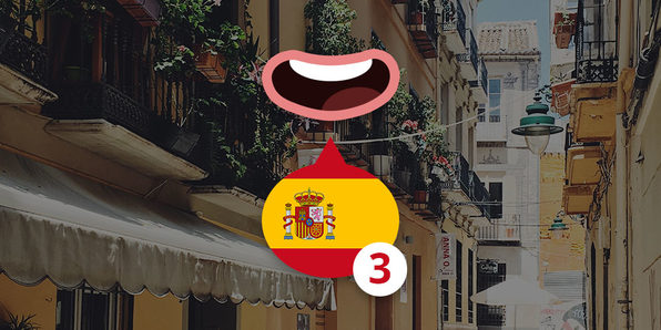 3 Minute Spanish: Course 2 - Product Image