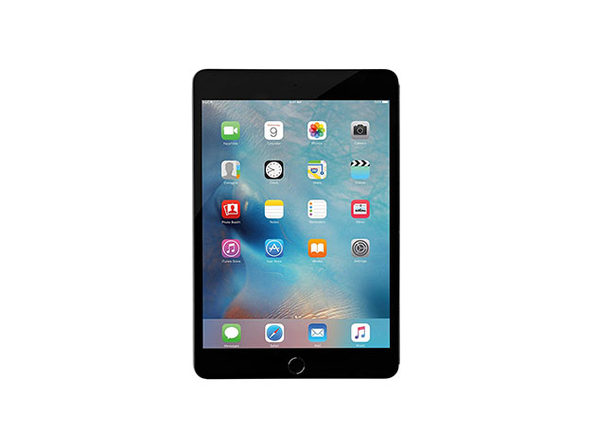 Apple iPad Mini 4 64GB Wi-Fi + Cellular Space Gray (Certified Refurbished)