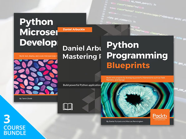 Pay What You Want: The Python eBook Bundle (Mini)