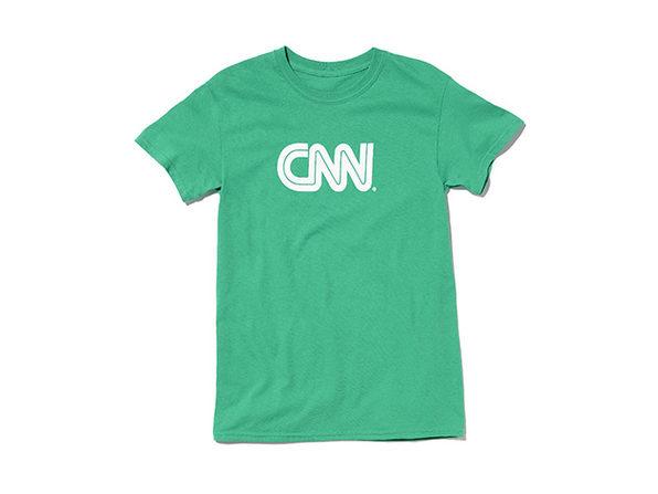 CNN Basic Tee (Green)