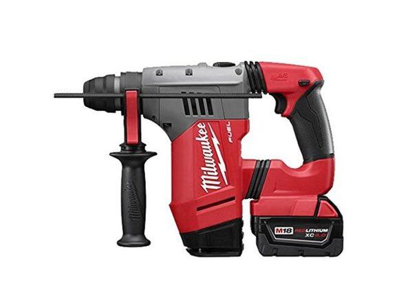 "Milwaukee 2715-22DE M18 Fuel 1-1/8"" SDS Plus Rotary Hammer with De Kit"