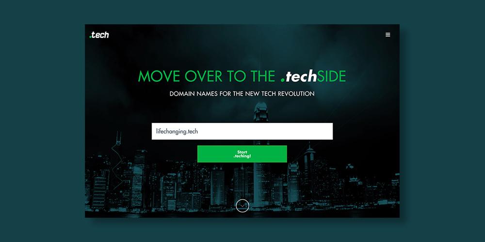 Radix '.tech' Domain: 10-Yr Subscription