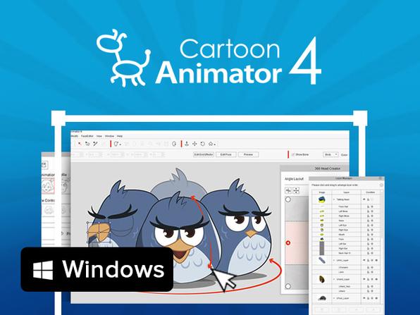 The Complete Cartoon Animator 4 PRO: Windows Bundle