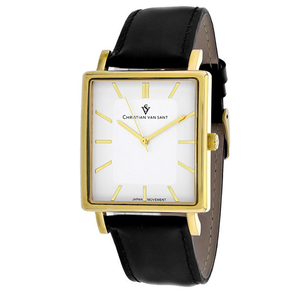 Christian Van Sant Men's Ace White Dial Watch - CV0432