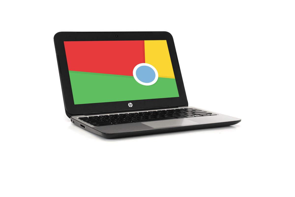 HP V2W29UT 11″ Chromebook, 2.16GHz Intel Celeron, 2GB RAM, 16GB SSD, Chrome (Grade B), on sale for $179.99 (40% off)