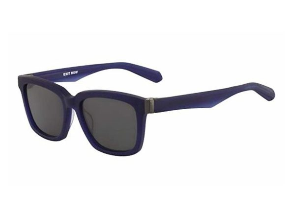 Dragon Alliance Robbs Sunglasses Matte Navy Frames with Smoke Lens - Product Image