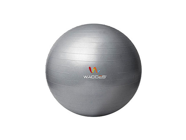 Wacces Anti-Burst Yoga Ball with Pump (Grey)