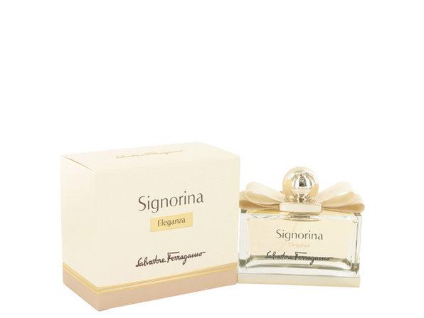 3 Pack Signorina Eleganza by Salvatore Ferragamo Eau De Parfum Spray 3.4 oz for Women