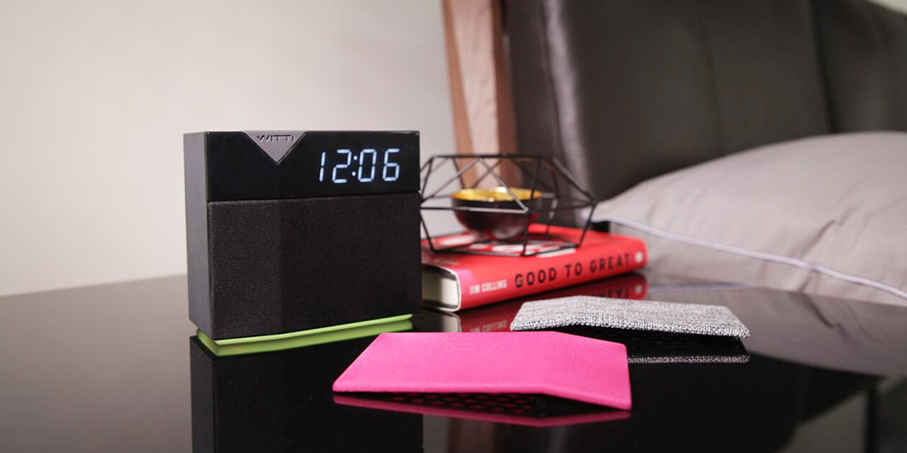 BEDDI Style Intelligent Alarm Clock Speaker, on sale for $16.99 (66% off)