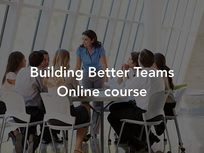 Building Better Teams - Product Image