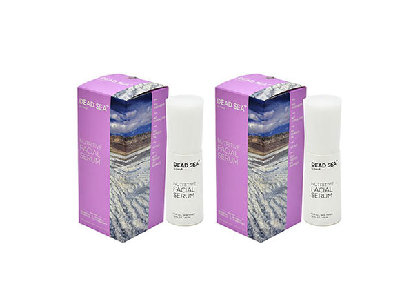 Dead Sea⁺ Nutritive Facial Serum: 2-Pack