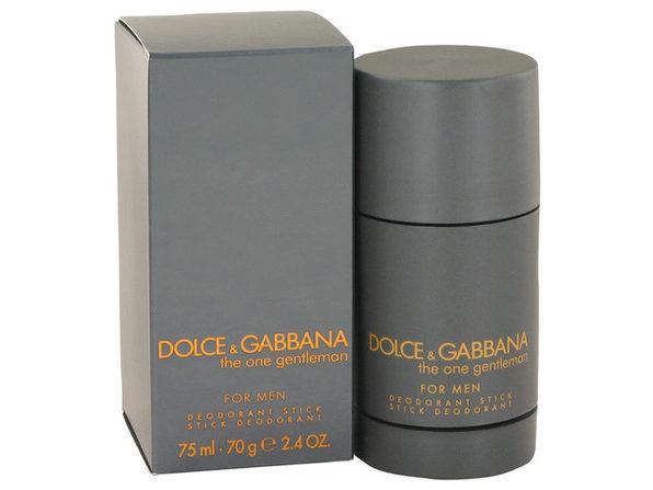 3 Pack The One Gentlemen by Dolce & Gabbana Deodorant Stick 2.5 oz for Men
