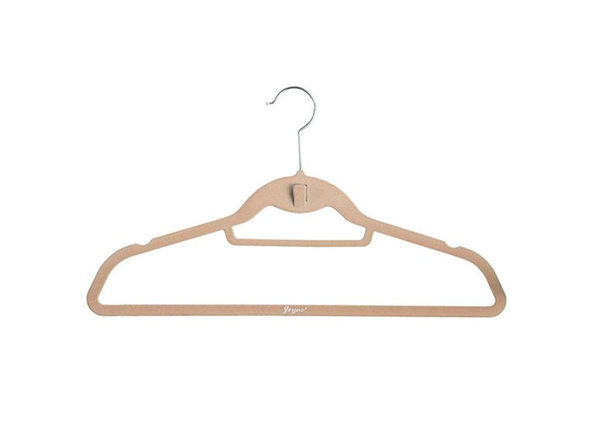 Joyus Slimline Hanger in Camel: Set of 25