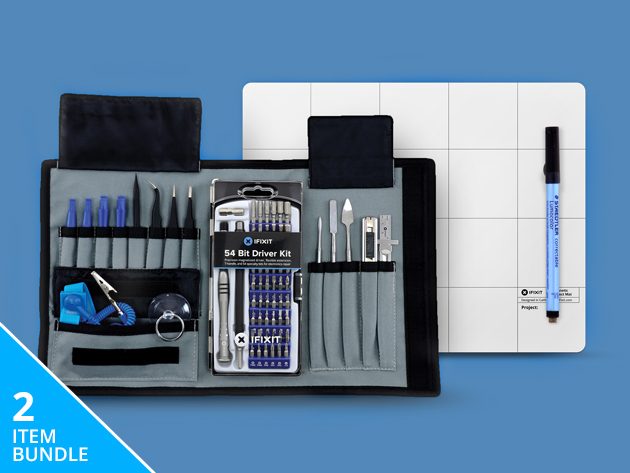 ifixit pro tech toolkit bundle stacksocial. Black Bedroom Furniture Sets. Home Design Ideas
