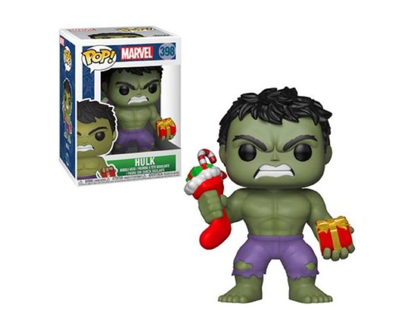 Funko POP - Marvel Holiday - Hulk - Vinyl Collectible Figure - w Stocking