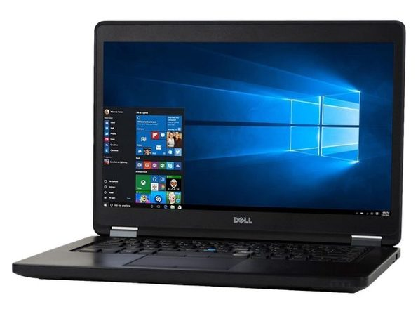 "Dell Latitude E5450 14"" Laptop, 2.9 GHz Intel i5 Dual Core Gen 5, 8GB RAM, 256GB SSD, Windows 10 Professional 64 Bit (Renewed)"