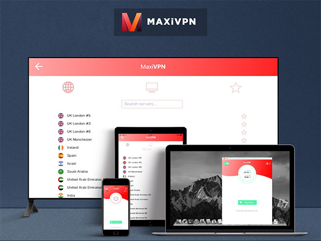 Teaser for MaxiVPN Premium Plan: 6 Month Subscription