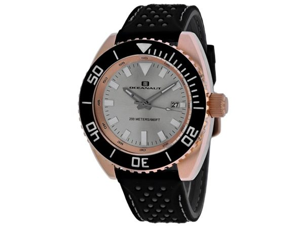 Oceanaut Men's Silver Dial Watch OC0523 - Product Image