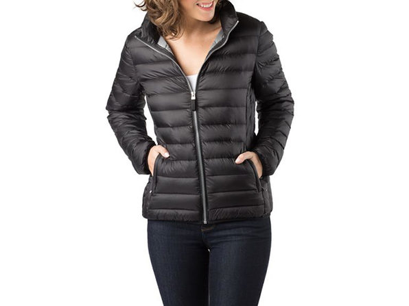 Joyus Exclusive Travel Puffer in Black (M)