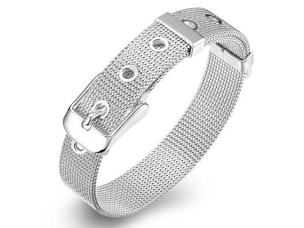 Mesh Buckle Bracelet