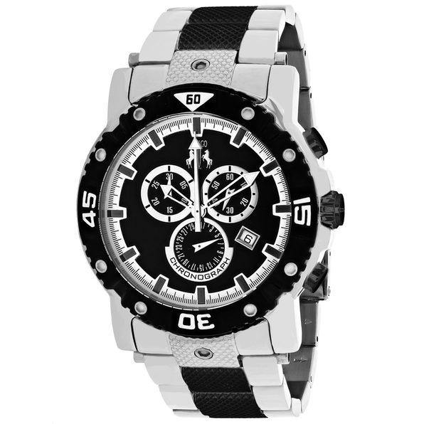 Jivago Men's Titan Black Dial Watch - JV9122XL